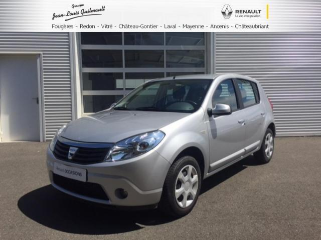 voiture occasion dacia sandero 1 5 dci 70 eco2 laur ate 2008 diesel 53100 mayenne mayenne. Black Bedroom Furniture Sets. Home Design Ideas