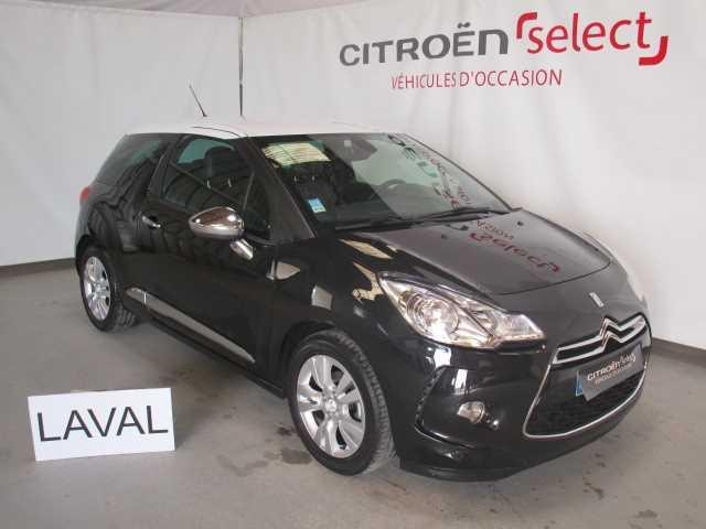 voiture occasion citroen ds3 e hdi 90 airdream executive. Black Bedroom Furniture Sets. Home Design Ideas
