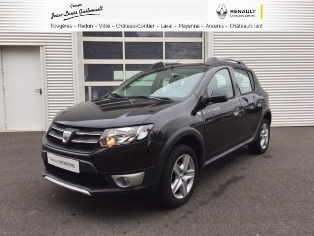 voiture occasion dacia sandero 1 5 dci 90 fap stepway prestige 2014 diesel 53100 mayenne mayenne. Black Bedroom Furniture Sets. Home Design Ideas