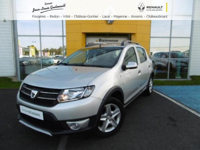 voiture occasion dacia sandero tce 90 stepway prestige 2014 essence 44150 ancenis loire. Black Bedroom Furniture Sets. Home Design Ideas
