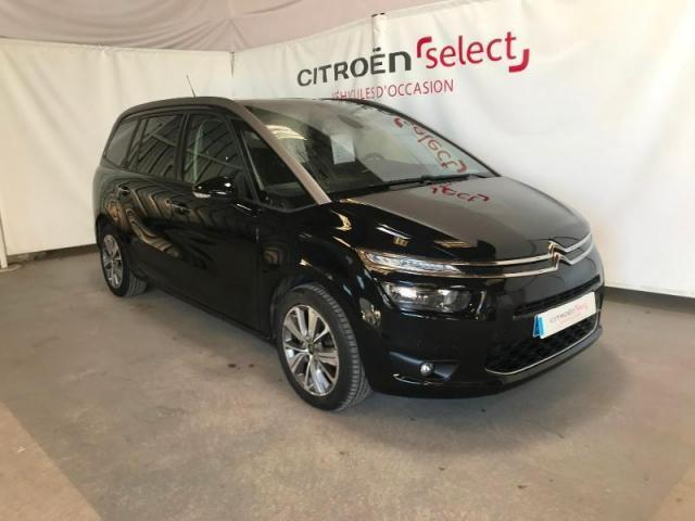 voiture occasion citroen grand c4 picasso bluehdi 150ch exclusive s 2014 diesel 53000 laval. Black Bedroom Furniture Sets. Home Design Ideas