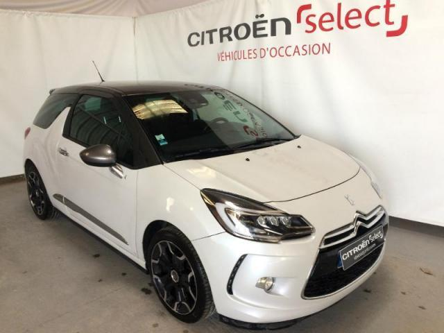 voiture occasion citroen ds3 bluehdi 120ch sport chic 2014 diesel 53000 laval mayenne. Black Bedroom Furniture Sets. Home Design Ideas
