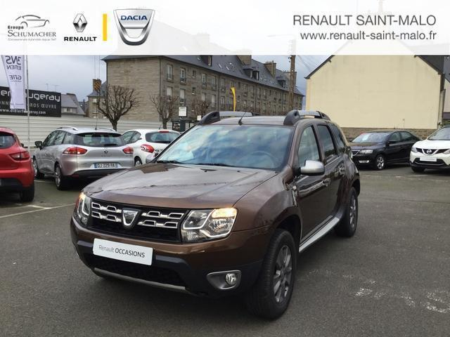 voiture occasion dacia duster 1 5 dci 110 4x4 prestige 2014 diesel 35400 saint malo ille et. Black Bedroom Furniture Sets. Home Design Ideas