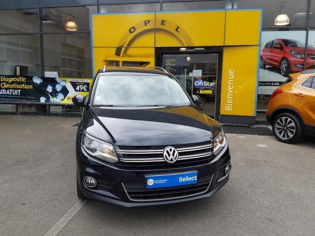 voiture occasion volkswagen tiguan 2 0 tdi 110ch bluemotion technology fap lounge 2015 diesel. Black Bedroom Furniture Sets. Home Design Ideas