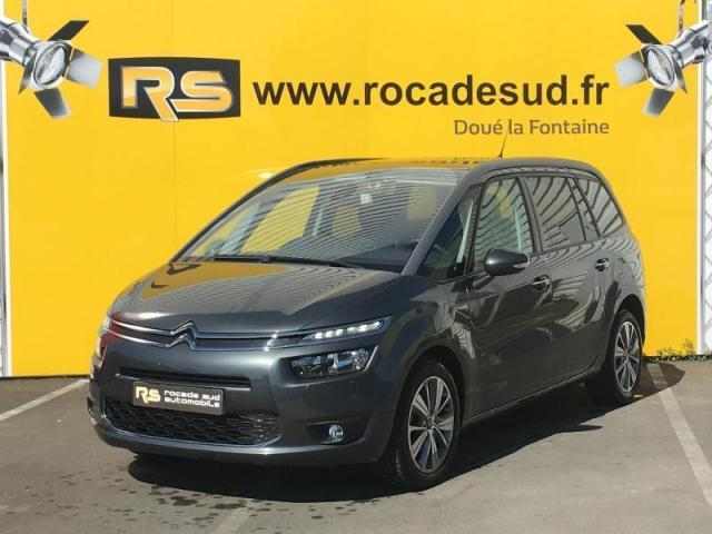 voiture occasion citroen grand c4 picasso bluehdi 150ch exclusive s 2016 diesel 49610 saint. Black Bedroom Furniture Sets. Home Design Ideas