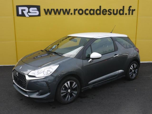 voiture occasion citroen ds3 bluehdi 100ch so chic s 2016 diesel 49610 saint melaine sur aubance. Black Bedroom Furniture Sets. Home Design Ideas