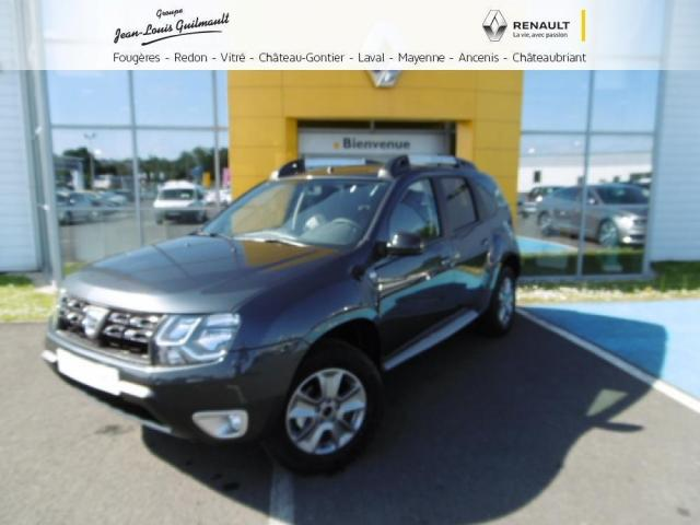 voiture occasion dacia duster dci 110 4x4 black touch 2017 diesel 44150 ancenis loire atlantique. Black Bedroom Furniture Sets. Home Design Ideas