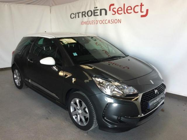 voiture occasion citroen ds3 bluehdi 100ch so chic s 2017