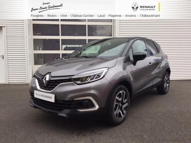 voiture occasion renault captur tce 120 energy iridium. Black Bedroom Furniture Sets. Home Design Ideas