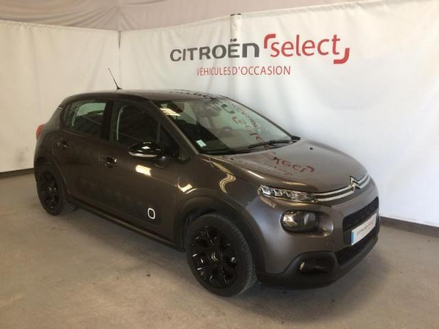 voiture occasion citroen c3 puretech 110ch shine s 2018 essence 53000 laval mayenne. Black Bedroom Furniture Sets. Home Design Ideas