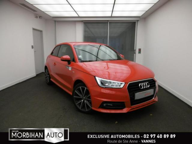 voiture occasion audi a1 1 0 tfsi 95ch ultra s line 2015 essence 56000 vannes morbihan. Black Bedroom Furniture Sets. Home Design Ideas