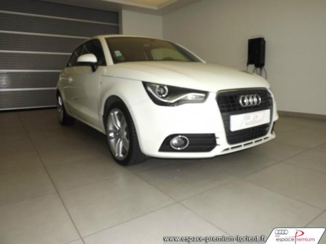 voiture occasion audi a1 1 4 tfsi 122ch s line 2011 essence 56600 lanester morbihan. Black Bedroom Furniture Sets. Home Design Ideas
