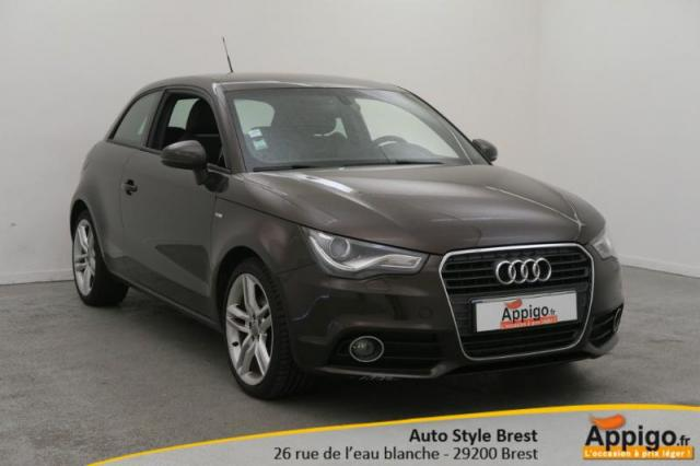 voiture occasion audi a1 1 6 tdi 105ch fap s line 2011 diesel 29200 brest finist re. Black Bedroom Furniture Sets. Home Design Ideas