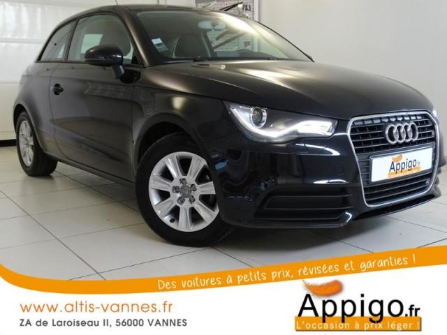 voiture occasion audi a1 1 6 tdi 90ch fap ambiente 2011 diesel 56000 vannes morbihan. Black Bedroom Furniture Sets. Home Design Ideas