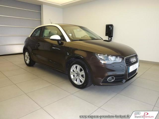 voiture occasion audi a1 1 6 tdi 90ch fap ambiente 2012 diesel 56600 lanester morbihan. Black Bedroom Furniture Sets. Home Design Ideas