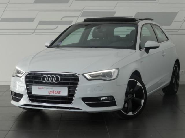 voiture occasion audi a3 1 2 tfsi 110ch s line 2015. Black Bedroom Furniture Sets. Home Design Ideas