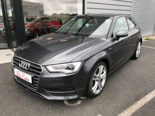 voiture occasion audi a3 1 6 tdi 110ch fap s line s tronic 7 2015 diesel 29470 plougastel. Black Bedroom Furniture Sets. Home Design Ideas