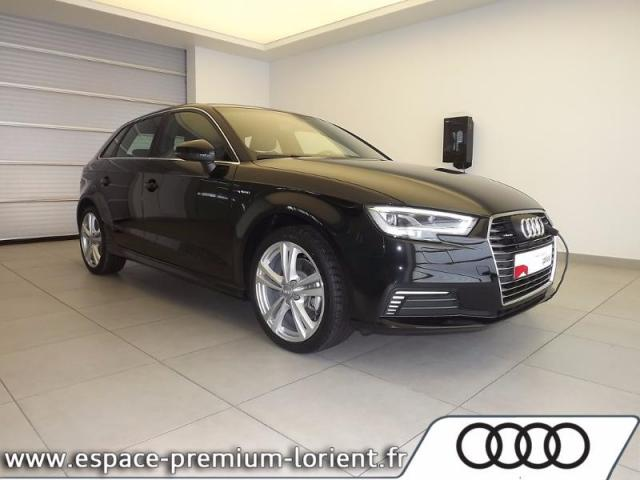 voiture occasion audi a3 sportback 1 4 tfsi 204ch e tron s line s tronic 6 2017 hybride 56600. Black Bedroom Furniture Sets. Home Design Ideas