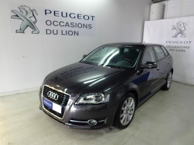 voiture occasion audi a3 sportback 1 6 tdi 105ch dpf start. Black Bedroom Furniture Sets. Home Design Ideas