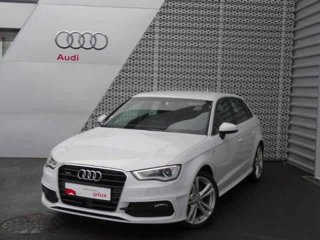 voiture occasion audi a3 sportback 1 8 tfsi 180ch s line quattro s tronic 6 2016 essence 28630. Black Bedroom Furniture Sets. Home Design Ideas