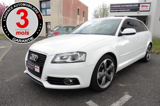 voiture occasion audi a3 sportback 2 0 tdi 140 s line 2011 diesel 56000 vannes morbihan. Black Bedroom Furniture Sets. Home Design Ideas