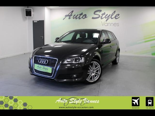 voiture occasion audi a3 sportback 2 0 tdi 140ch dpf start stop s line 2010 diesel 56450 theix. Black Bedroom Furniture Sets. Home Design Ideas