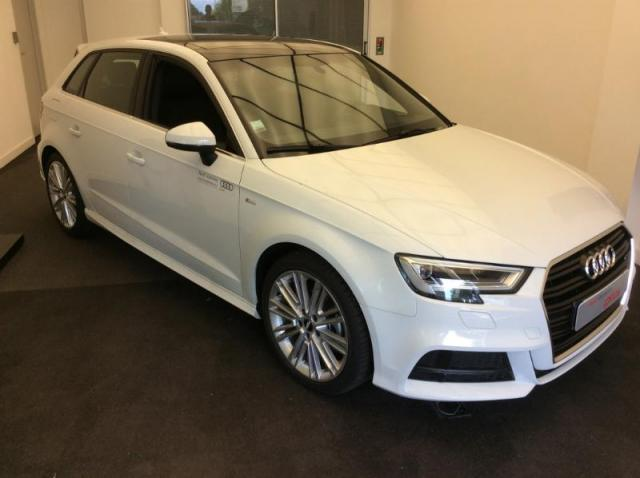 voiture occasion audi a3 sportback 2 0 tdi 150ch design luxe s tronic 6 2017 diesel 56000 vannes. Black Bedroom Furniture Sets. Home Design Ideas