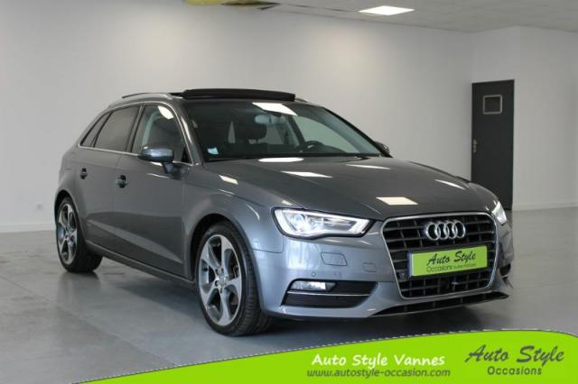voiture occasion audi a3 sportback 2 0 tdi 150ch fap ambition luxe s tronic 6 2014 diesel 56450. Black Bedroom Furniture Sets. Home Design Ideas