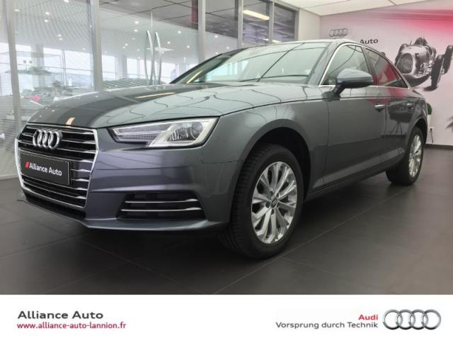 Voiture occasion audi a4 2 0 tdi 122ch design 2017 diesel for Garage peugeot lannion 22300