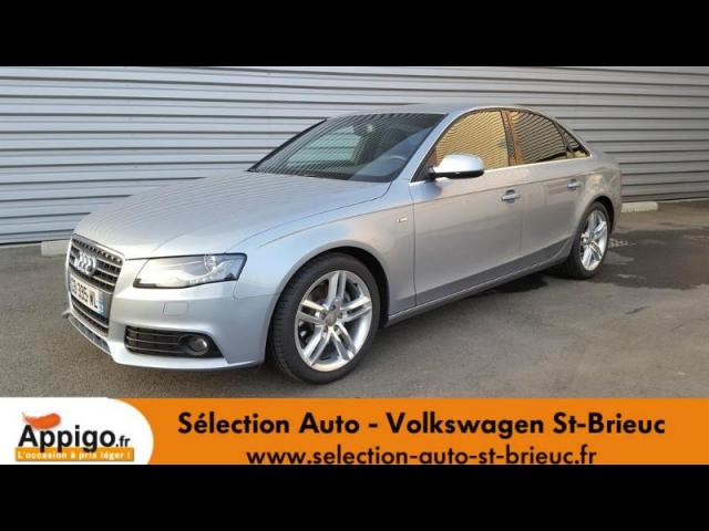 voiture occasion audi a4 2 0 tdi 143ch dpf s line 2012 diesel 22000 saint brieuc c tes d 39 armor. Black Bedroom Furniture Sets. Home Design Ideas