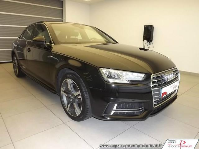 voiture occasion audi a4 2 0 tdi 150ch s line 2016 diesel. Black Bedroom Furniture Sets. Home Design Ideas