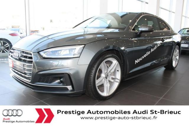 Voiture occasion audi a5 3 0 tdi 218ch s line quattro s for Garage automobile saint brieuc