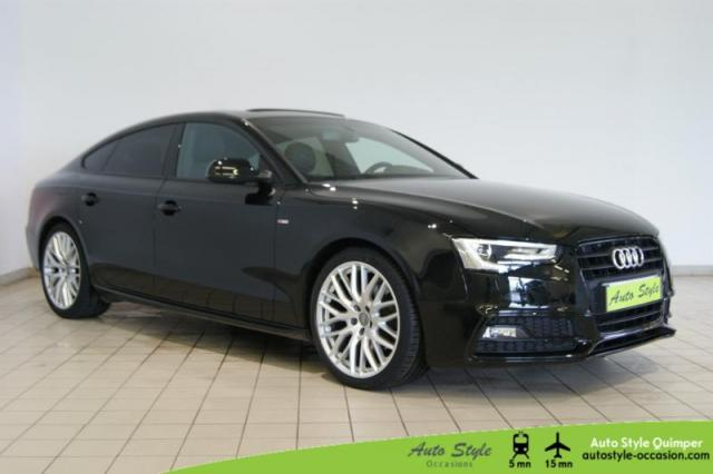 voiture occasion audi a5 2 0 tdi 150ch s line multitronic 2014 diesel 29000 quimper finist re. Black Bedroom Furniture Sets. Home Design Ideas