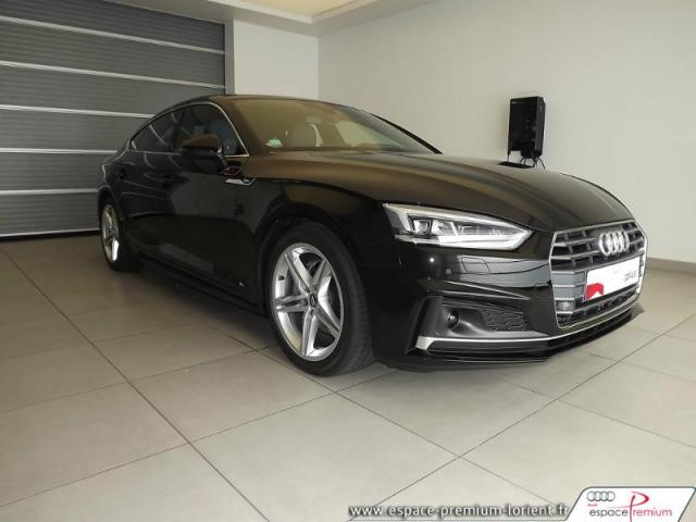 voiture occasion audi a5 2 0 tdi 190ch s line quattro s tronic 7 2017 diesel 56600 lanester. Black Bedroom Furniture Sets. Home Design Ideas