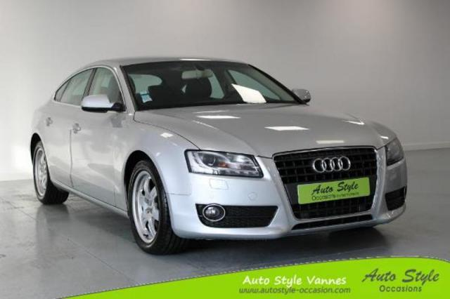 voiture occasion audi a5 2 7 v6 tdi 190ch dpf ambition luxe multitronic 2010 diesel 56450 theix. Black Bedroom Furniture Sets. Home Design Ideas