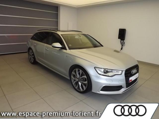 voiture occasion audi a6 avant 3 0 bitdi 313ch avus tiptronic 2014 diesel 56600 lanester. Black Bedroom Furniture Sets. Home Design Ideas