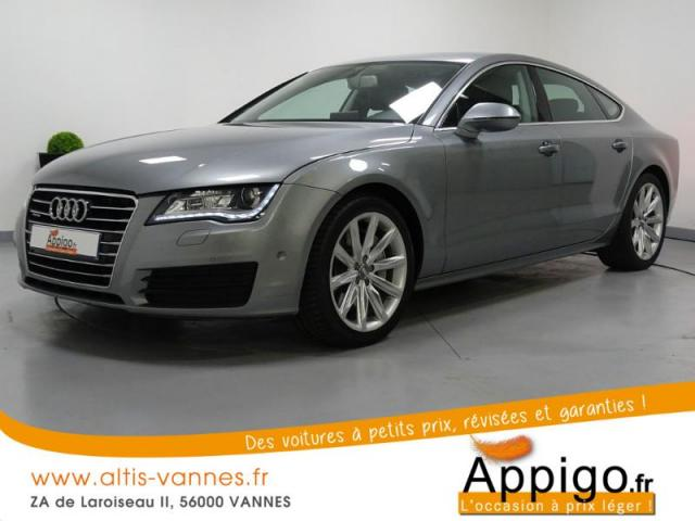 voiture occasion audi a7 3 0 v6 bitdi 313ch avus quattro tiptronic 2013 diesel 56000 vannes. Black Bedroom Furniture Sets. Home Design Ideas