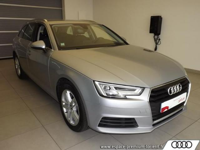 voiture occasion audi a4 avant 2 0 tdi 122ch s tronic 7 2018 diesel 56600 lanester morbihan. Black Bedroom Furniture Sets. Home Design Ideas
