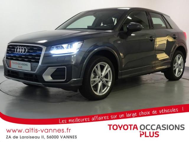 voiture occasion audi q2 1 4 tfsi 150ch cod s line 2017 essence 56000 vannes morbihan. Black Bedroom Furniture Sets. Home Design Ideas