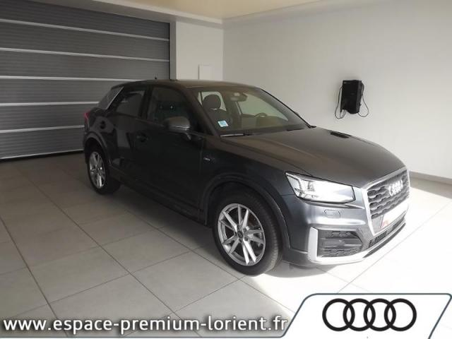 voiture occasion audi q2 1 4 tfsi 150ch cod s line 2017 essence 56600 lanester morbihan. Black Bedroom Furniture Sets. Home Design Ideas