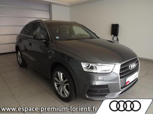 voiture occasion audi q3 1 4 tfsi 150ch cod s line s tronic 6 2016 essence 56600 lanester. Black Bedroom Furniture Sets. Home Design Ideas