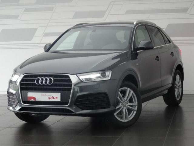 voiture occasion audi q3 2 0 tdi 120ch s line 2017 diesel. Black Bedroom Furniture Sets. Home Design Ideas