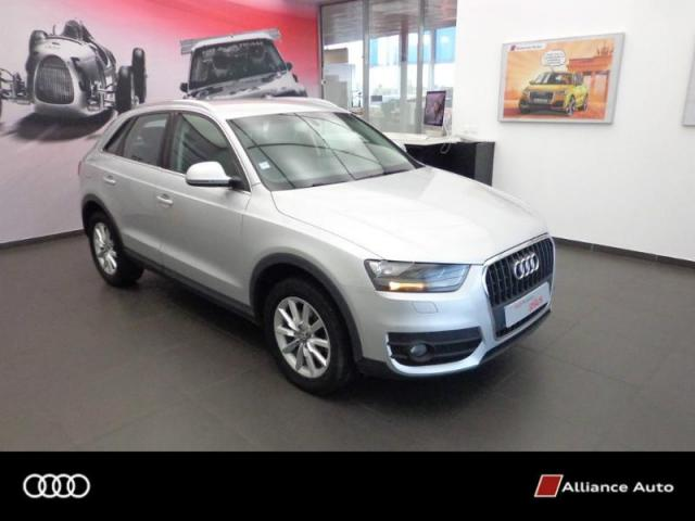 voiture occasion audi q3 2 0 tdi 140ch ambiente 2012. Black Bedroom Furniture Sets. Home Design Ideas
