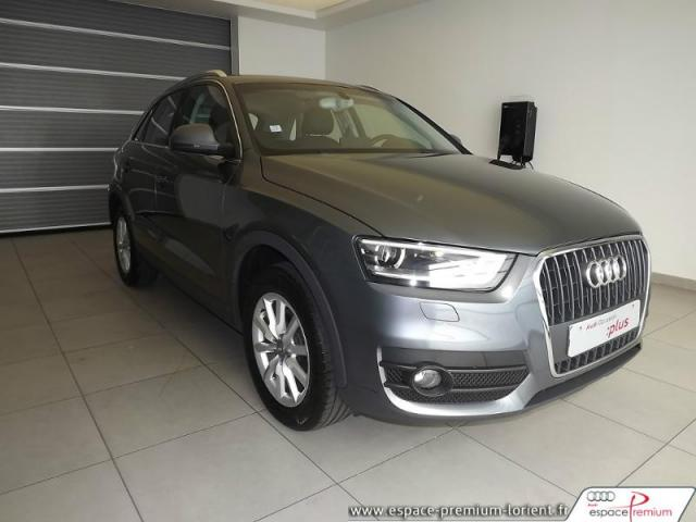 voiture occasion audi q3 2 0 tdi 140ch ambiente 2013 diesel 56600 lanester morbihan. Black Bedroom Furniture Sets. Home Design Ideas