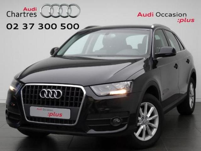 voiture occasion audi q3 2 0 tdi 140ch ambiente 2014 diesel 28630 nogent le phaye eure et loir. Black Bedroom Furniture Sets. Home Design Ideas