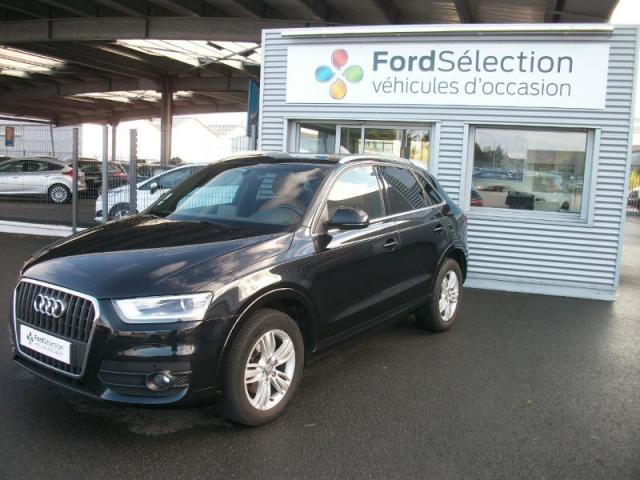voiture occasion audi q3 2 0 tdi 140ch ambition luxe 2011. Black Bedroom Furniture Sets. Home Design Ideas