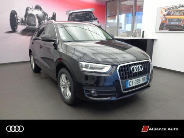 voiture occasion audi q3 2 0 tdi 140ch ambition luxe 2013 diesel 29600 morlaix finist re. Black Bedroom Furniture Sets. Home Design Ideas