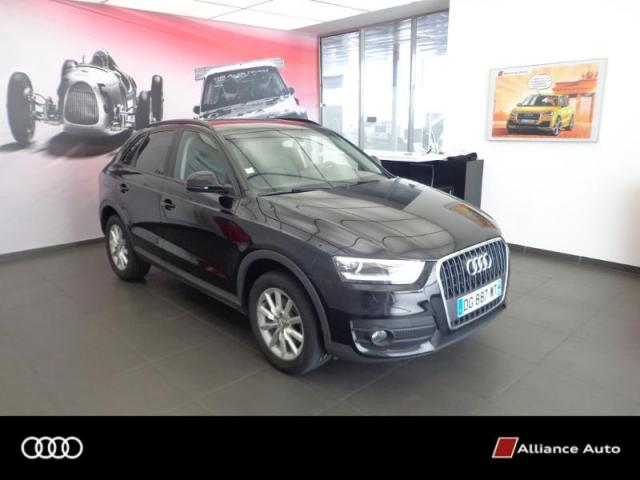 voiture occasion audi q3 2 0 tdi 140ch ambition luxe 2014. Black Bedroom Furniture Sets. Home Design Ideas