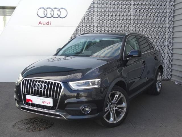 voiture occasion audi q3 2 0 tdi 140ch ambition luxe quattro 2013 diesel 28630 nogent le phaye. Black Bedroom Furniture Sets. Home Design Ideas