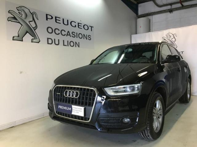 voiture occasion audi q3 2 0 tdi 140ch ambition luxe. Black Bedroom Furniture Sets. Home Design Ideas